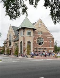 New Wesley Center building at University of Florida 2010 photo